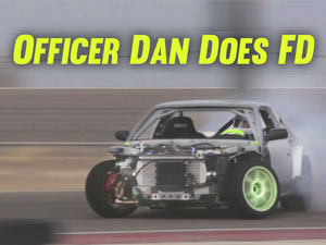 Officer Dan Does Formula Drift